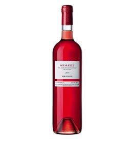Greek Wine Kir-Yianni Akakies Rosé, Amyndeon, Greece 2018 750ml