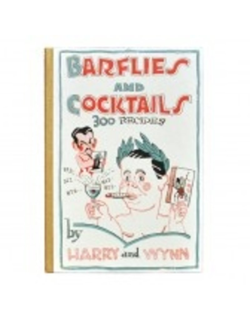 Books Barflies and Cocktails Book