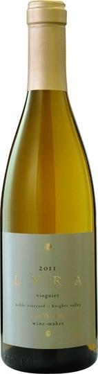 """American Wine Sean Thackrey Noble Vineyard Viognier """"Lyra"""" 2012 750ml"""