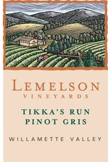 "American Wine Lemelson Vineyards ""Tikka's Run"" Pinot Gris Willamette Valley 2016 750ml"