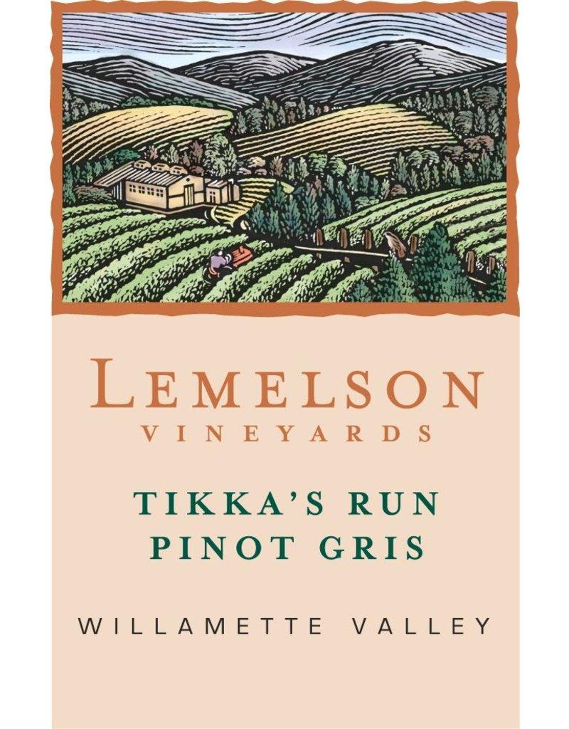 "American Wine Lemelson Vineyards ""Tikka's Run"" Pinot Gris Willamette Valley 2017 750ml"