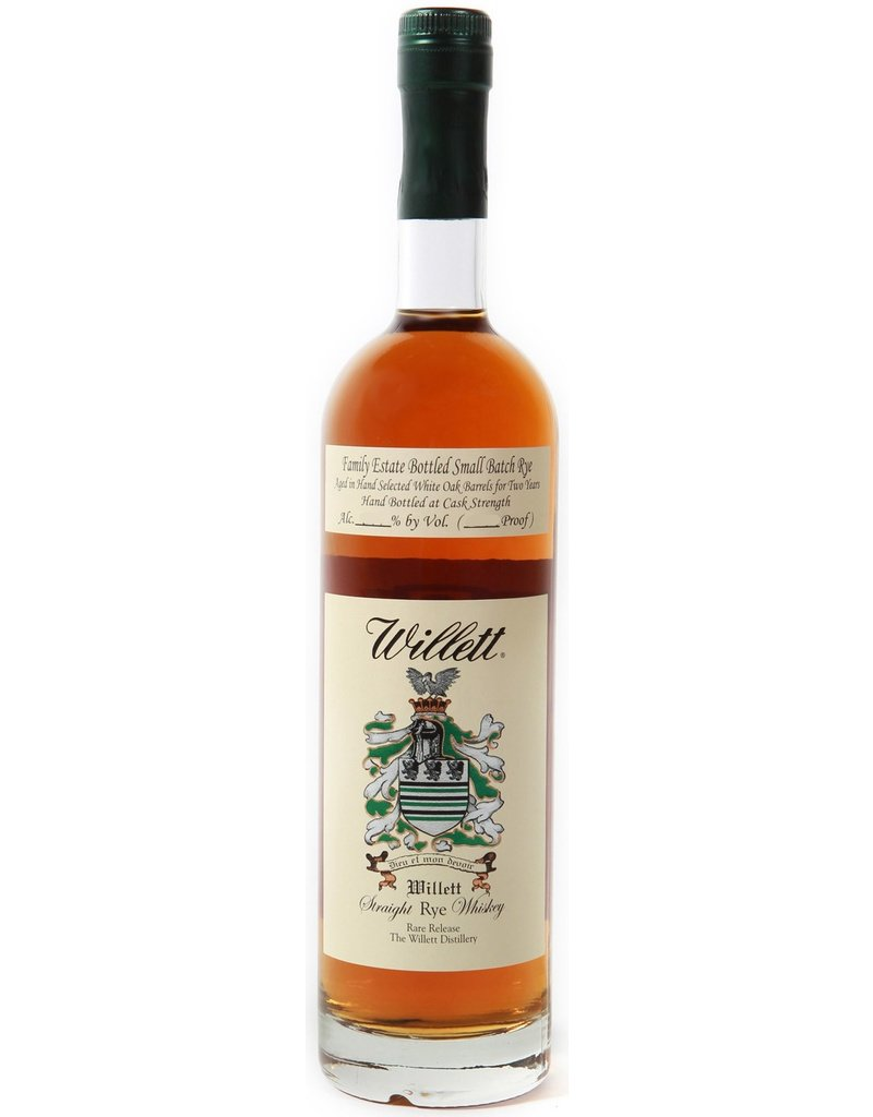 Willett Straight Rye Whiskey 4 Year Small Batch 750ml