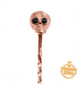 Miscellaneous Beach Bum Berry Skull Barspoon 33cm (Copper Plated)