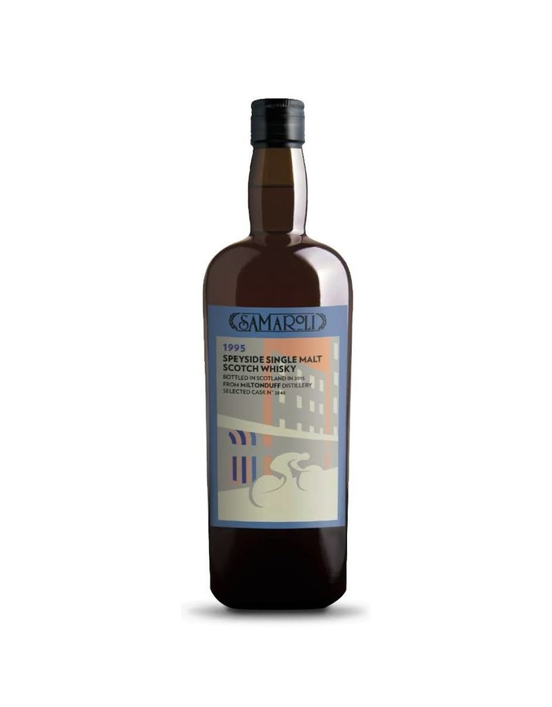 Samaroli Miltonduff Speyside Single Malt Scotch Whisky 750ml