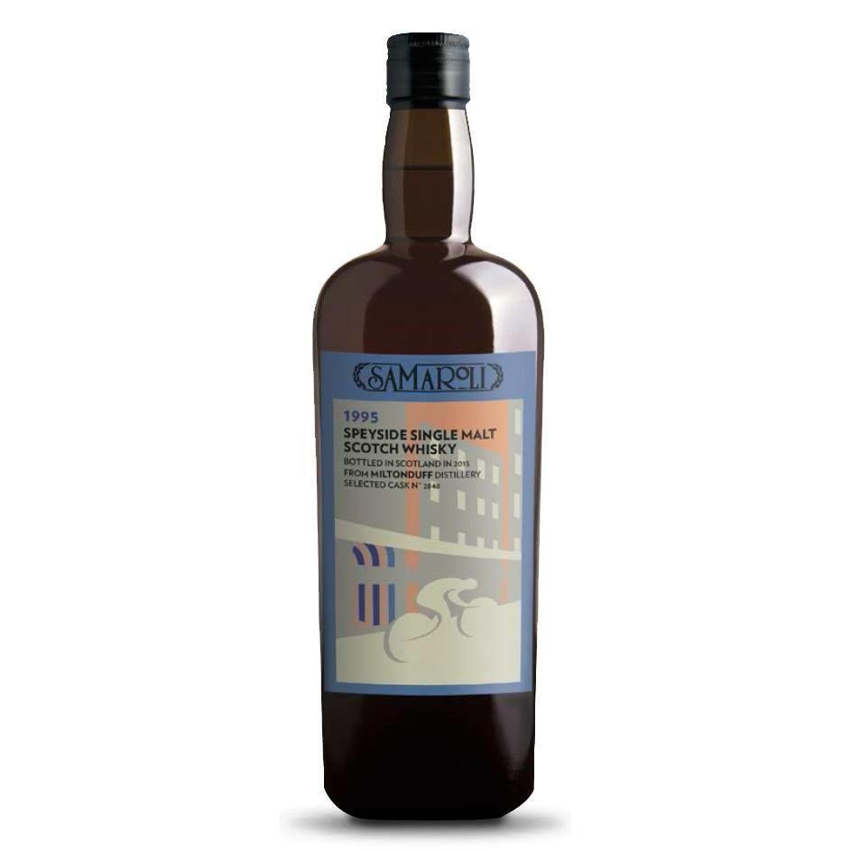 Scotch Samaroli Miltonduff Speyside Single Malt Scotch Whisky 750ml