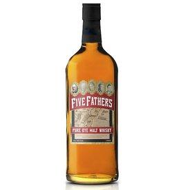 Rye Whiskey Five Fathers 100% Pure Malt Rye 750ml