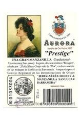 Sherry Aurora Manzanilla 500ml
