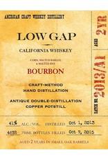 Bourbon Low Gap California Whiskey Bourbon 750ml
