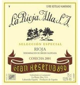 """La Rioja Alta """"890"""" Rioja Gran Reserva 2005 750ml"""