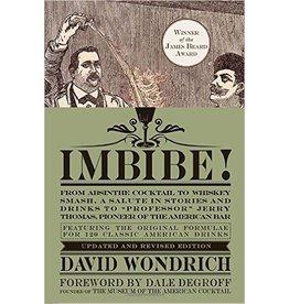 Imbibe by David Wondrich