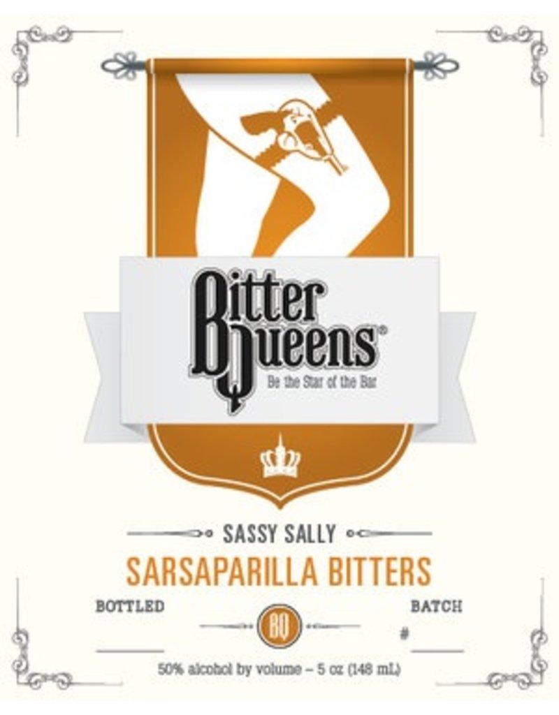 """Bitter Queens """"Sassy Sally"""" Sasaparilla Bitters 5oz"""