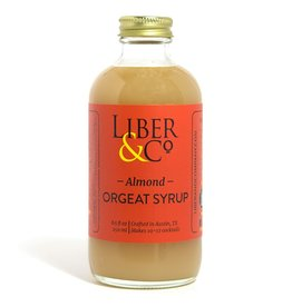 Mixer Liber & Co. Almond Orgeat Syrup 9.5oz