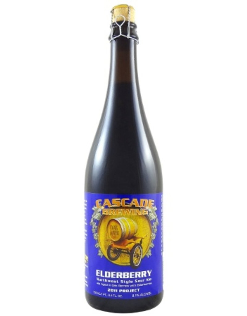 Cascade Brewing Elderberry Northwest Sour Ale 750ml