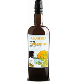 Rum Samaroli Guadeloupe Rum Distilled in 1998 bottled in 2016 from Cask No. 54 320 bottles produced 750ml