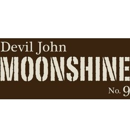 "Whiskey Devil John Moonshine ""No. 9"" Barrel House Distilling Co. 750ml"