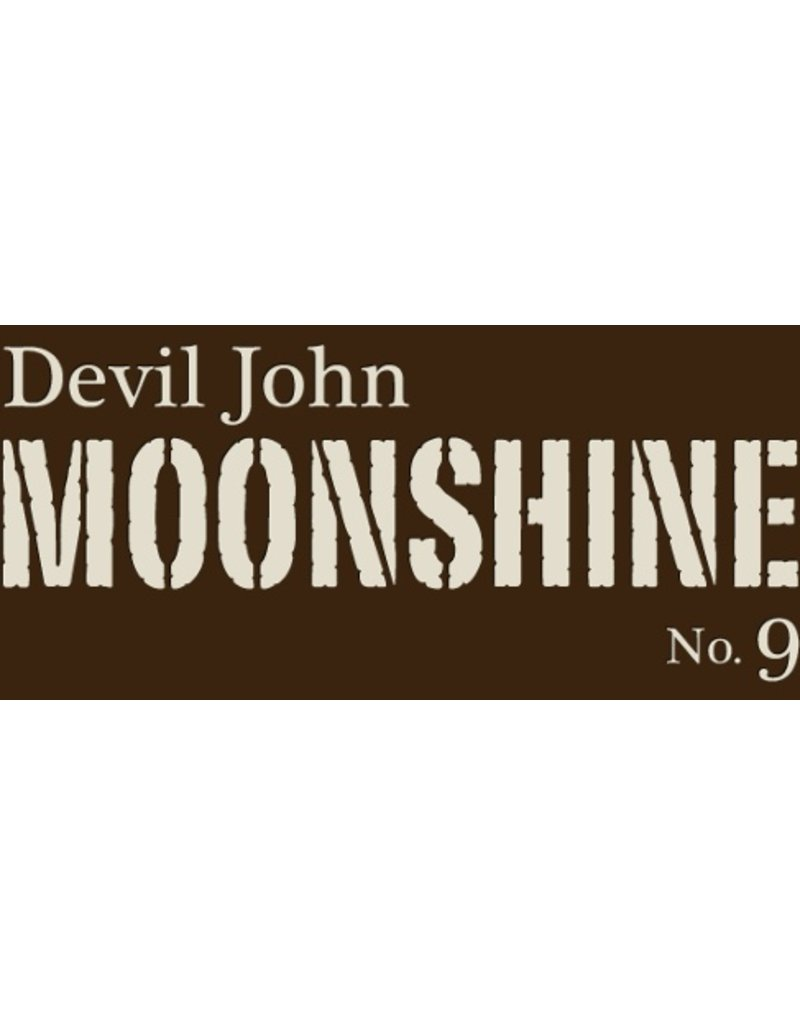 "Devil John Moonshine ""No. 9"" Barrel House Distilling Co. 750ml"