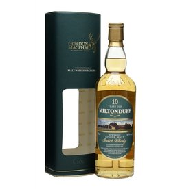 Scotch Gordon & McPhail Miltonduff Speyside 10 Year Single Malt Scotch Whiskey 750ml