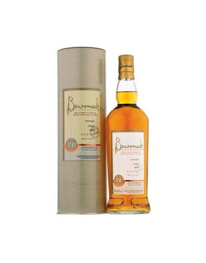 Benromach 21yr Speyside Single Malt Scotch Whisky 750ml