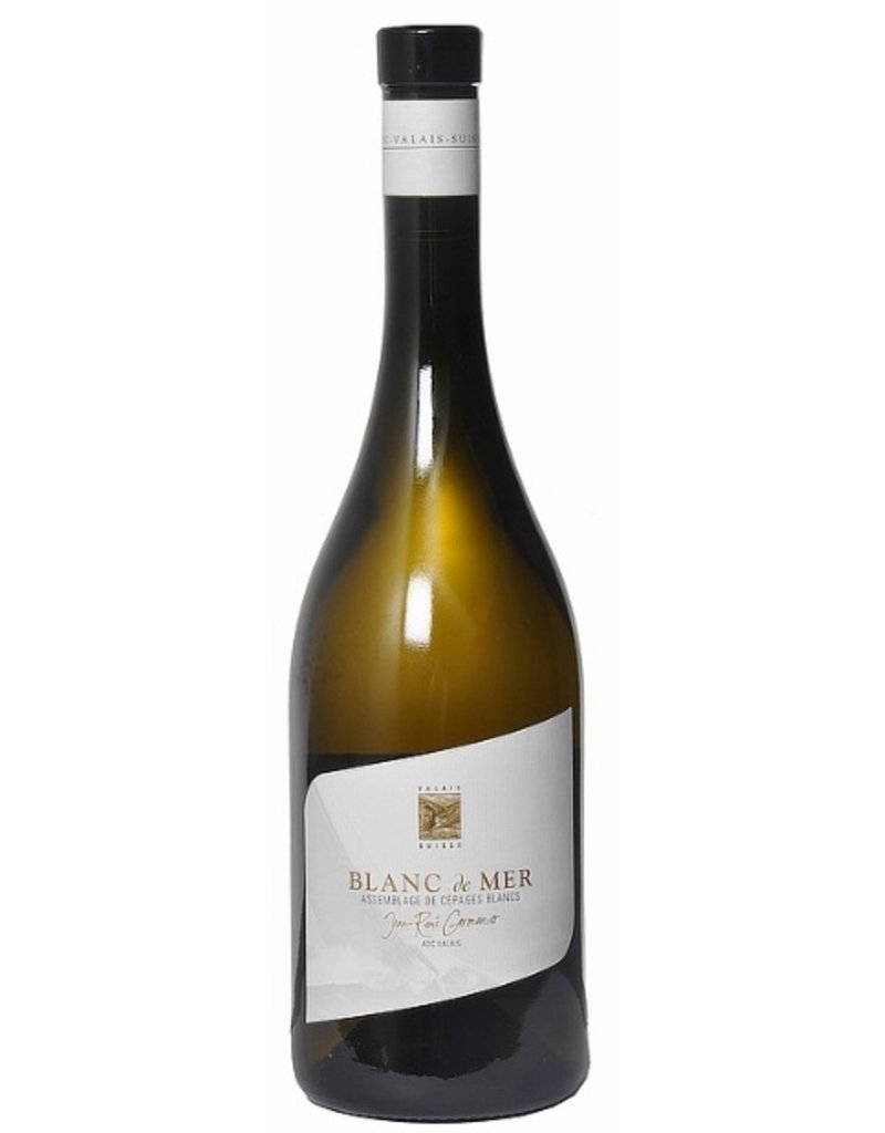 """Swiss Wine Jean-Réne Germanier """"Blanc de Mer"""" Assemblage de Cépages Blancs 2014 750ml"""