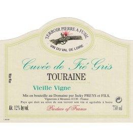 """French Wine Domaine Jacky Preys et Fils """"Cuvée de Fié Gris"""" Touraine Blanc 2015 750ml"""