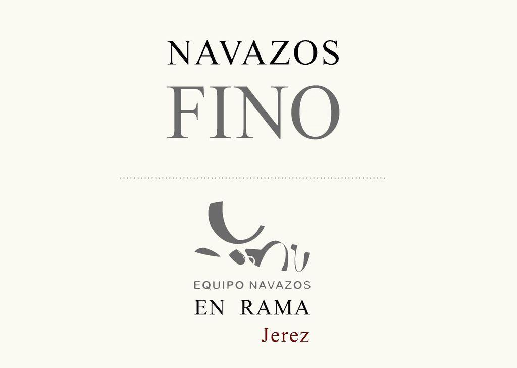 "Sherry Navazos Fino ""Saca of May"" En Rama 2017 375ml"