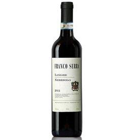 Italian Wine Franco Serra Langhe Nebbiolo 2017 750ml