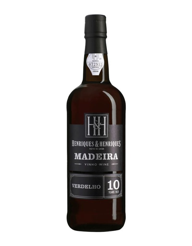 Dessert Wine Henriques & Henriques Madeira Verdelho 10 Year 750ml