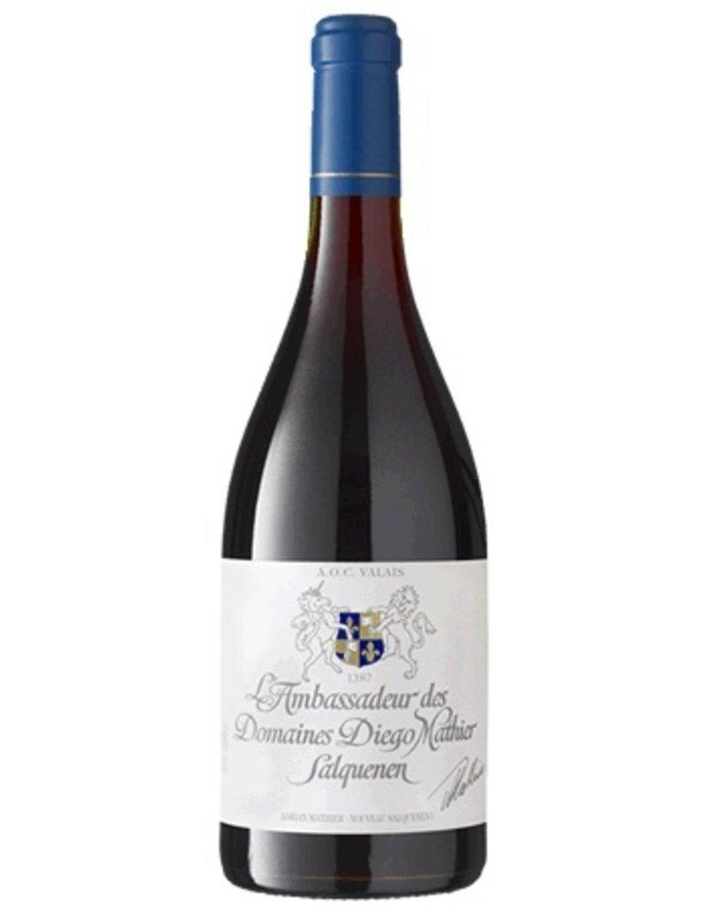 Adrian & Diego Mathier L'Ambassadeur des Domaines Diego Mathier Valais Switzerland Pinot Noir 2014/2016 750ml
