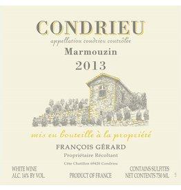 "French Wine Domaine Gerard Condrieu ""Marmouzin"" 2013 750ml"