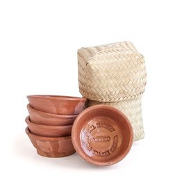 Miscellaneous Del Maguey Copita Baskey (6 Piece) Mezcal Ramekins