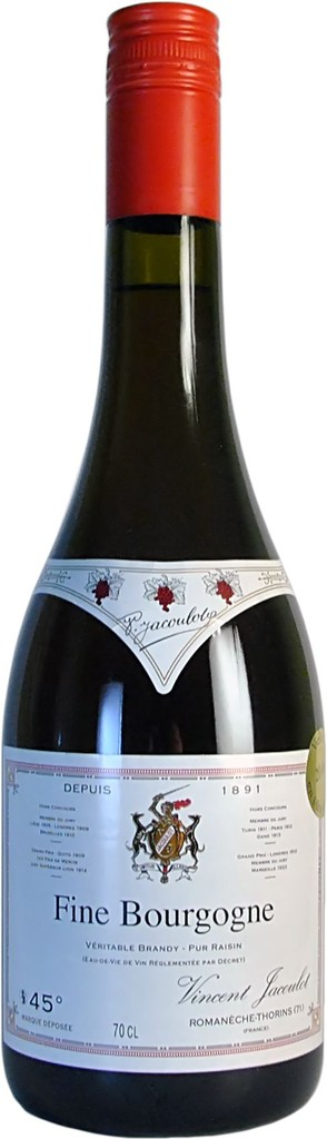 "Brandy Vincent Jacoulot ""Fine Bourgogne"" Brandy 1L"