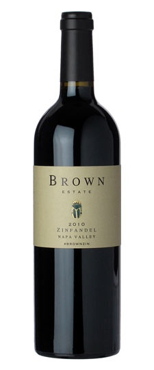 American Wine Brown Estate Zinfandel Napa Valley 2014 750ml