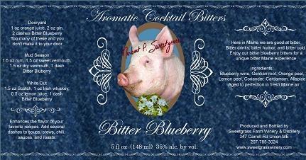 Bitter Sweetgrass Farm Bitter Blueberry 5oz