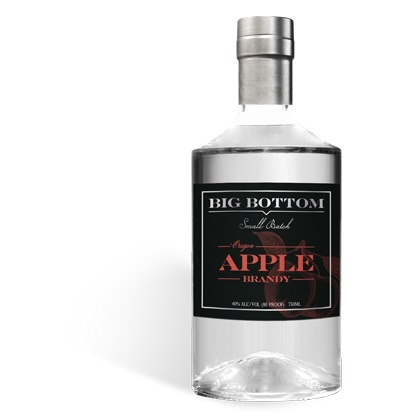 Brandy Big Bottom Oregon Apple Brandy (Unaged) 750ml
