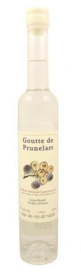 Brandy Laurent Cazottes Goutte de Prunelart Grape Brandy 375ml