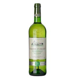 French Wine Mission Saint Vincent Bordeaux Blanc 2015 750ml