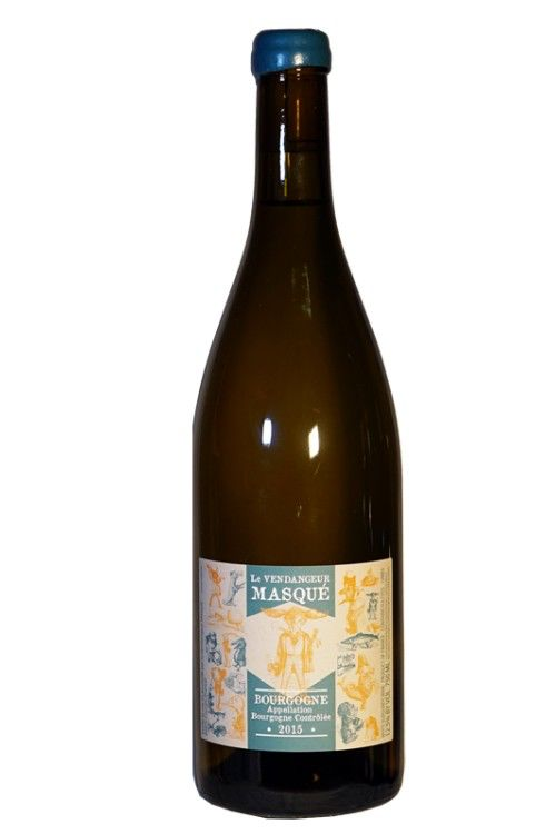 """French Wine De Moor """"Le Vendangeur Masqué"""" Bourgogne Blanc 2016 750ml"""