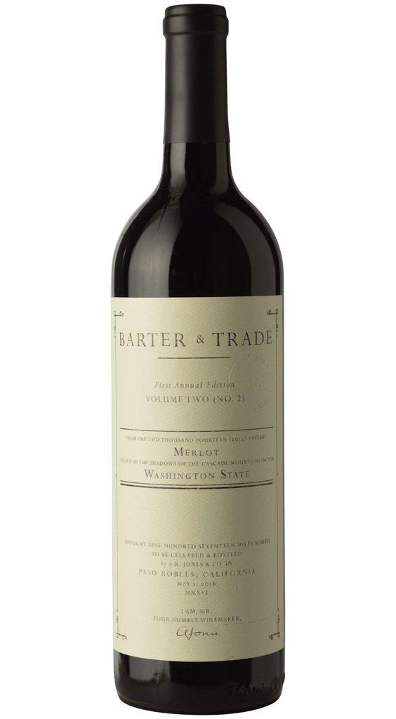 "American Wine Barter & Trade ""Volume Three"" Merlot Red Mountain Washington 2017 750ml"