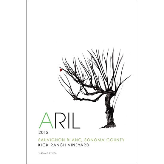 "American Wine Aril Sauvignon Blanc Sonoma County ""Kick Ranch Vineyard"" 2015 750ml"
