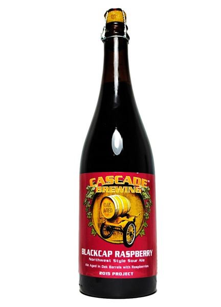 Beer Cascade Brewing Blackcap Raspberry Northwest Sour Ale 750ml