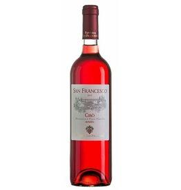 Italian Wine Fattoria San Francesco Ciro Rosato 2017 750ml