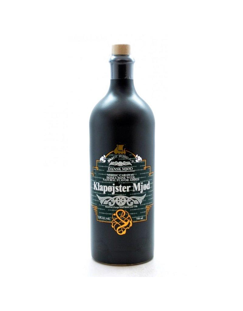 "Dansk Mjod ""Klapojster Mjod"" Nordic Caraway Honey Wine With Natural Flavor Added 750ml"