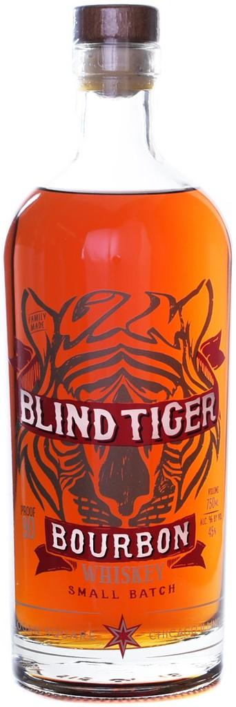 """Bourbon Chicago Distilling Co. """"Blind Tiger"""" Bourbon Whiskey 750ml"""