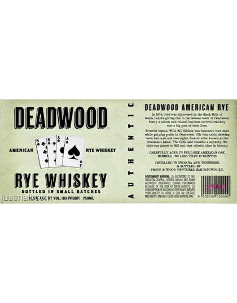 Deadwood Rye 750ml