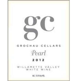 "American Wine Grochau Cellars ""Pearl"" Willamette Valley White Wine 2015 750ml"