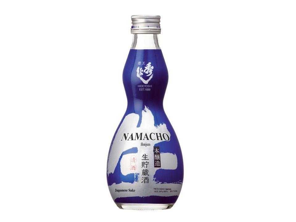 Sake Hideyoshi Namacho Honjozo Sake 300ml