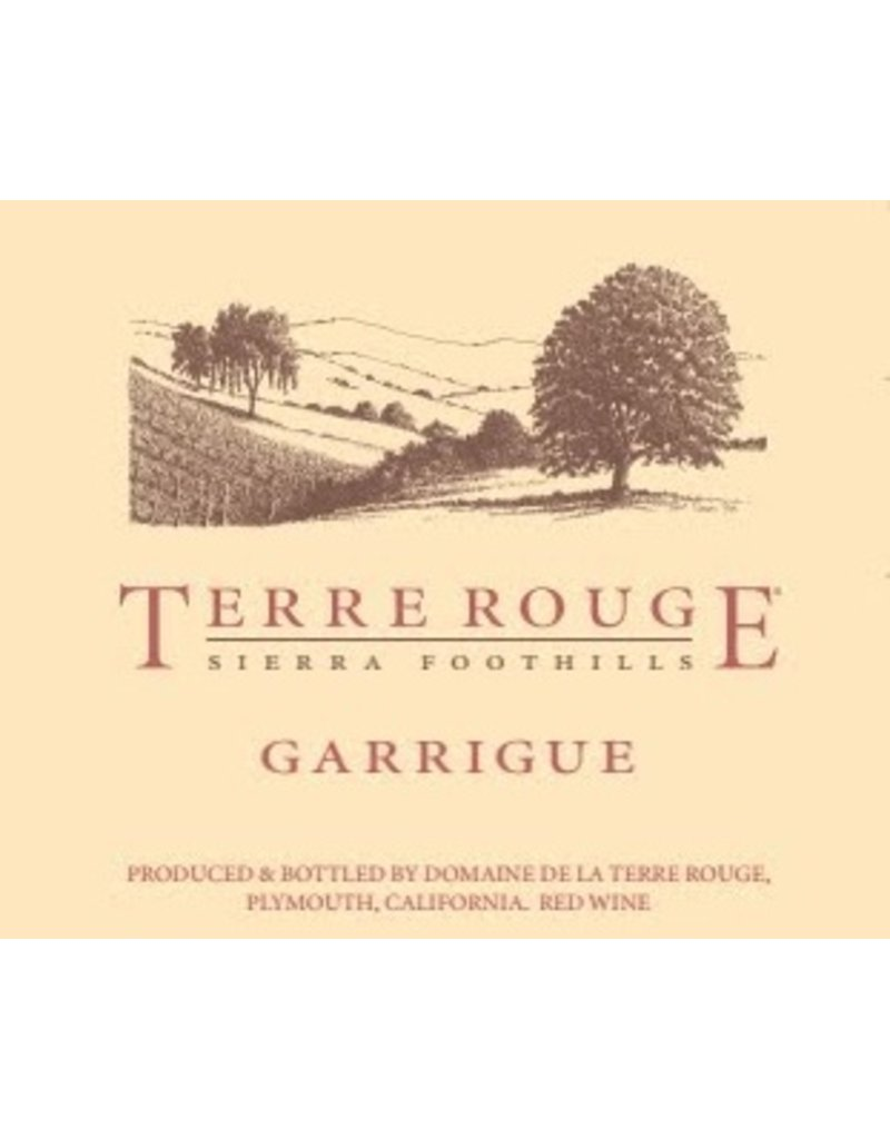 "Terre Rouge ""Garrigue"" Sierra Foothills Amador County 2013 750ml"