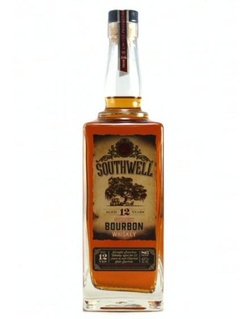 Bourbon Southwell Straight Bourbon Whiskey 12 Years 86 proof 750ml