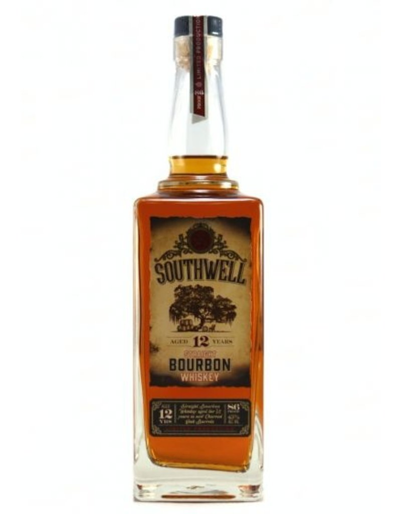 Southwell Straight Bourbon Whiskey 12 Years 86 proof 750ml