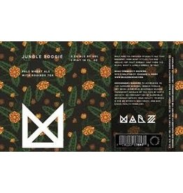 Beer Marz Jungle Boogie Pale Wheat Ale with Rooibos Tea 4pack 12oz Cans